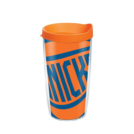 Officially Licensed NBA 16 oz Tumbler and Lid- New York Knicks
