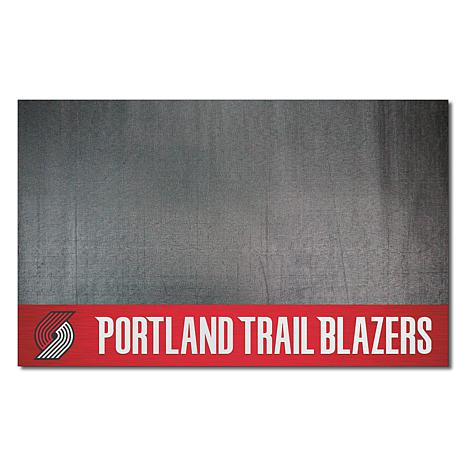 Officially Licensed NBA Vinyl Grill Mat  - Portland Trail Blazers