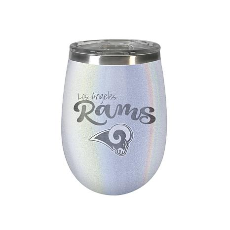 Officially Licensed NFL 12 oz. Opal Wine Tumbler - Los Angeles Rams