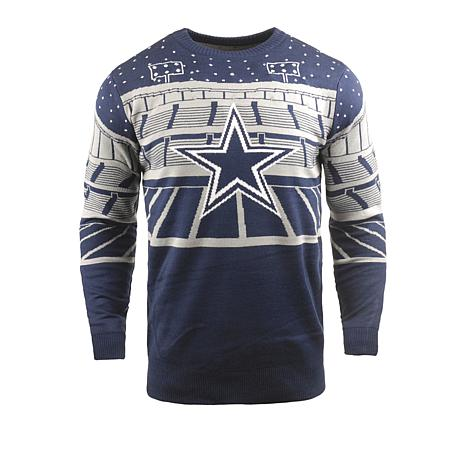 190d1fea3bc Officially Licensed NFL 2018 Bluetooth Light-Up Sweater by Team Beans -  Cowboys - 8714157