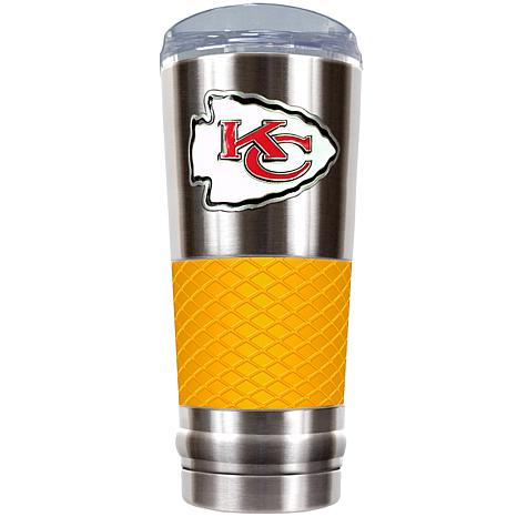 Officially Licensed NFL 24 oz. Stainless Steel/Yellow Draft Tumbler...