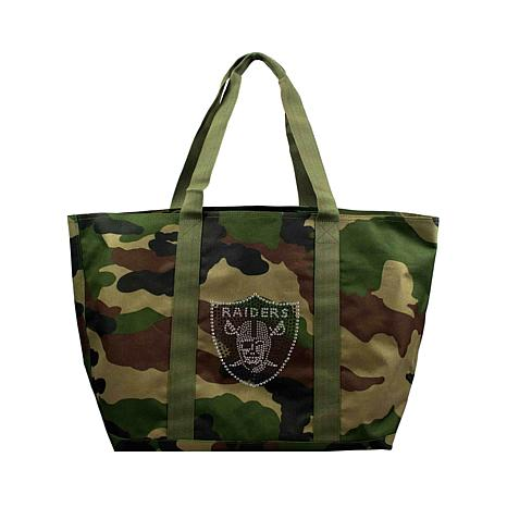 Officially Licensed NFL Camo Tote - Raiders