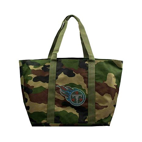 Officially Licensed NFL Camo Tote - Titans