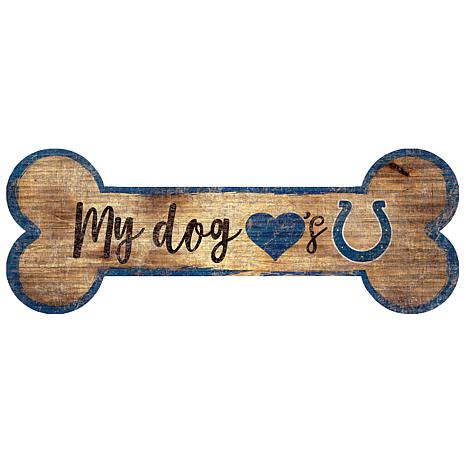 1cd7a63b3 Officially Licensed NFL Dog Bone Wall Art - Colts - 8557016