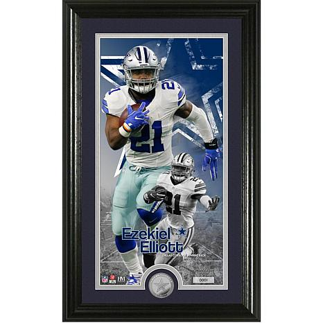 Officially Licensed NFL Ezekiel Elliott Supreme Coin Photo Mint