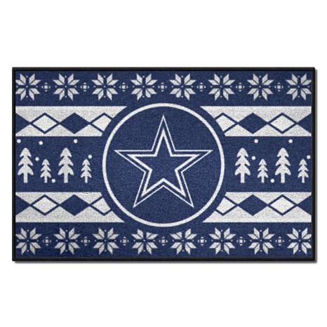 quality design 09bcb 4dad2 Officially Licensed NFL Holiday Sweater Starter Mat- Dallas Cowboys