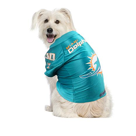 181613219 Officially Licensed NFL Premium Mesh Pet Jersey - Dolphins - 8520565   HSN