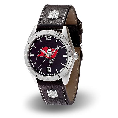 "Officially Licensed NFL Sparo ""Guard"" Strap Watch - Buccaneers"