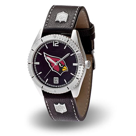 "Officially Licensed NFL Sparo ""Guard"" Strap Watch - Cardinals"
