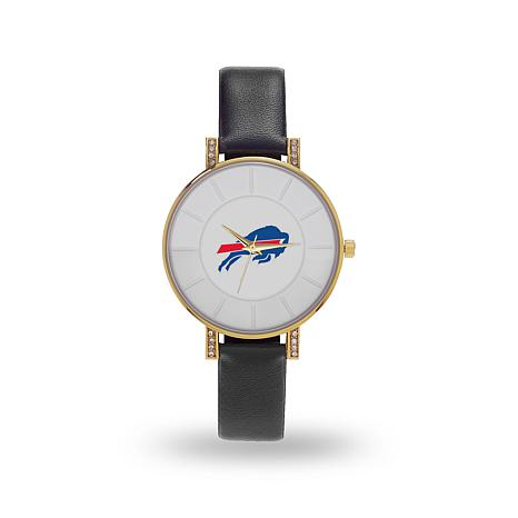 "Officially Licensed NFL Sparo ""Lunar"" Strap Watch - Bills"
