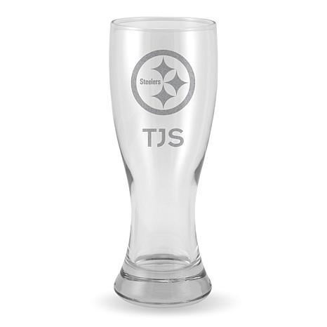 Officially Licensed NFL Sparo Personalized 20 oz. Pilsner Glass - S...