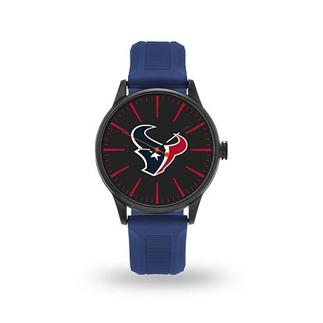 "Officially Licensed NFL Sparo Team Logo ""Cheer"" Strap Watch - Texans"