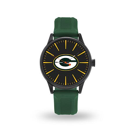 """Officially Licensed NFL Sparo Team Logo """"Cheer"""" Strap Watch - Packers"""