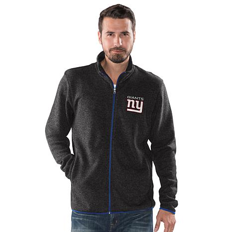 Officially Licensed NFL Sweater Fleece Full-Zip Jacket by Glll