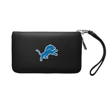 Discount Officially Licensed NFL Zip Organizer Wallet Detroit Lions  free shipping
