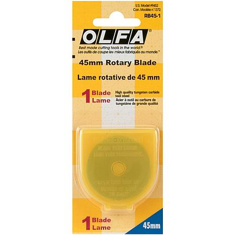 Olfa Rotary Blade Refill - 45mm/1-pack