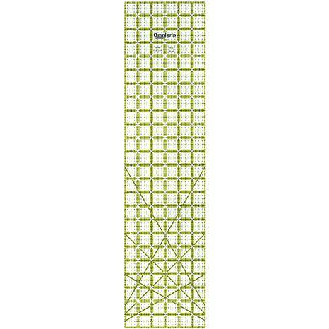 Omnigrip Non-Slip Quilter's Ruler - 6X24