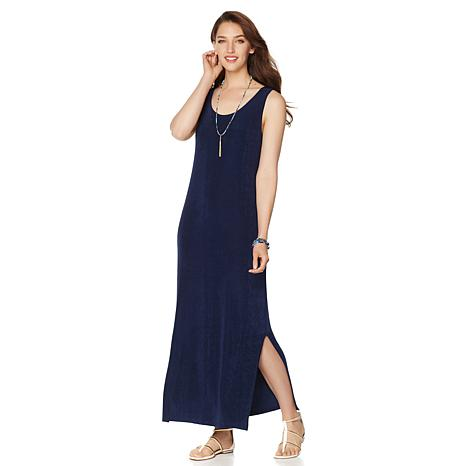 Original Slinky® Brand Long Tank Dress - 8121825  HSN