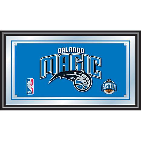 Orlando Magic NBA Framed Logo Mirror