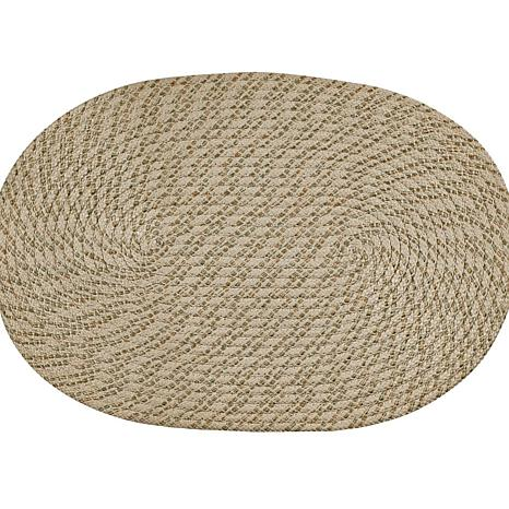 "Palm Spring Braided Rug - 20"" x 30"""