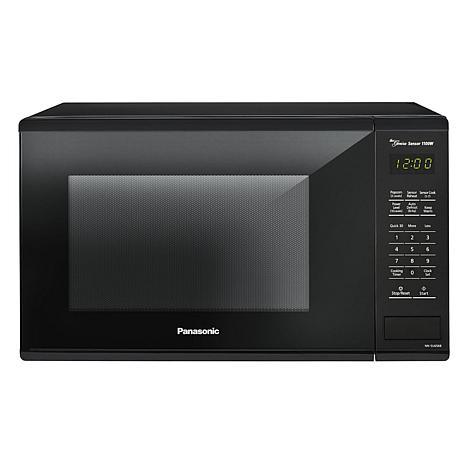 Panasonic 1100W 1.3ct Black Microwave Oven