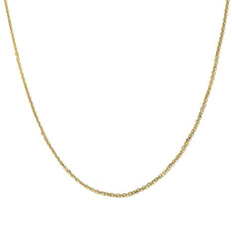 "Passport to Gold 14K 1.5mm Cable Chain 16"" Necklace"