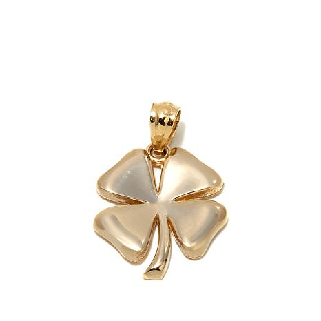 Passport to Gold 14K 4-Leaf Clover Pendant