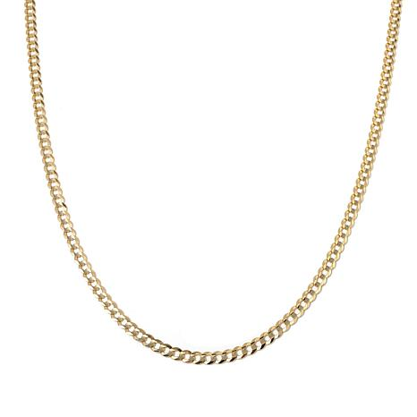 "Passport to Gold 14K Gold 4.7mm Curb-Link 24"" Necklace"