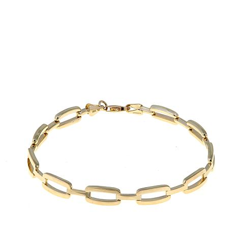 Passport to Gold 14K Gold Open Panther-Link Bracelet