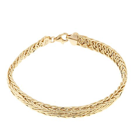 Pport To Gold 14k Wheat Chain 8 Bracelet