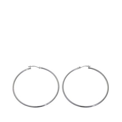Passport to Gold 14K Round Tube Hoop Earrings