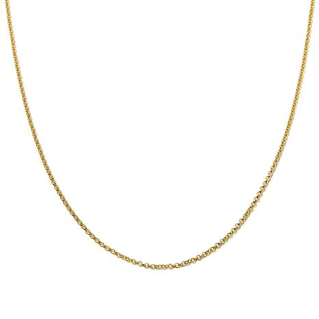 "Passport to Gold 14K Yellow Gold 1.9mm 20"" Rolo Chain"