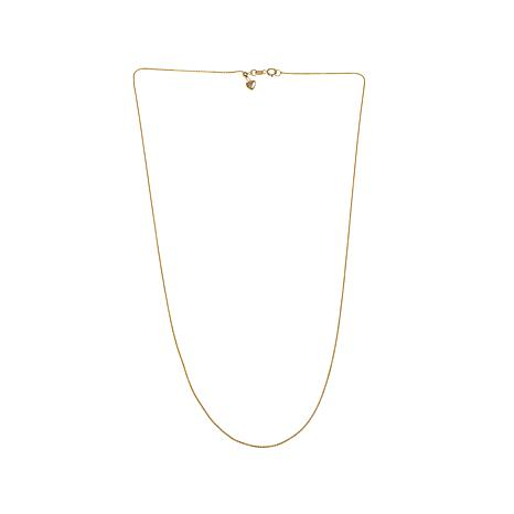 """Passport to Gold 14K Yellow Gold Wheat-Link 20"""" Chain"""