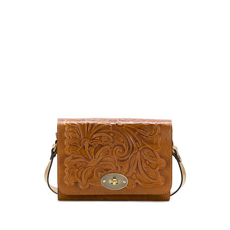 Patricia Nash Arga Leather Reversible Crossbody Bag