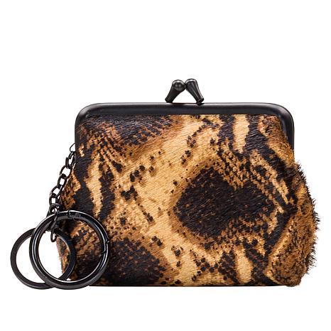 Patricia Nash Borse Leather or Haircalf Coin Purse