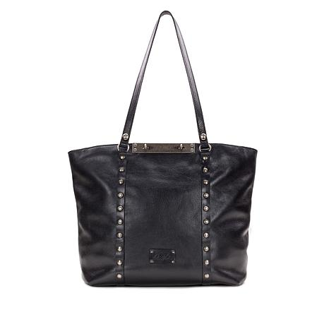 Patricia Nash Bresimo Leather Computer Travel Tote
