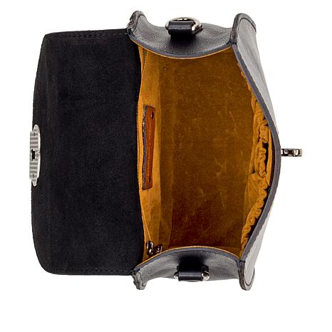 beb60837822095 Patricia Nash Brionne Heritage Leather Crossbody Bag - 9093615   HSN