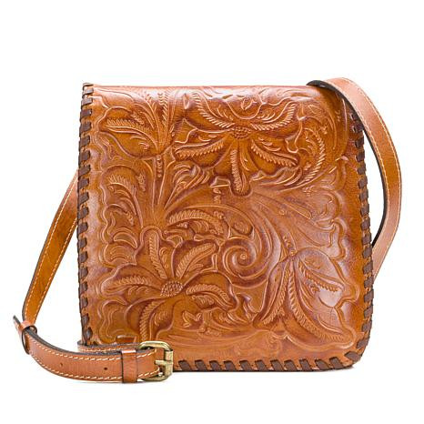 21efa20cc814 Patricia Nash Granada Tooled Leather Crossbody Bag - 8815503