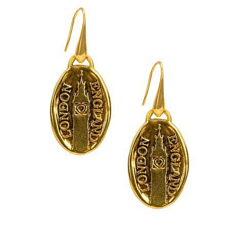 Patricia Nash  Romantic Travel London Drop Earrings