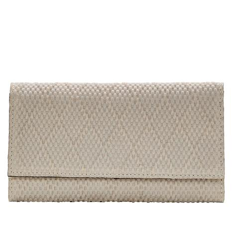 Patricia Nash Terresa Leather Diamond-Textured Signature Wallet