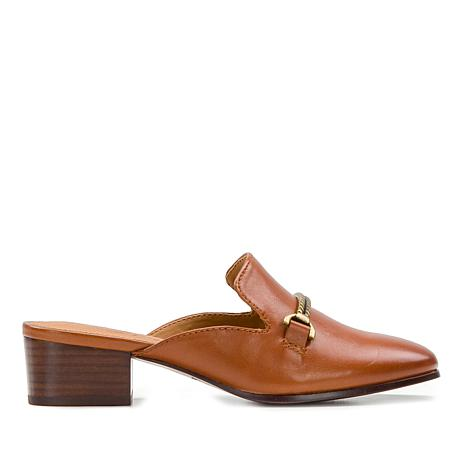 Patricia Nash Tilly Leather Slip-On Mule