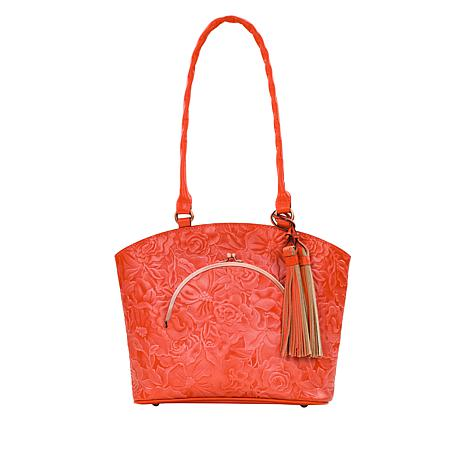 Patricia Nash Zorita Leather Tote