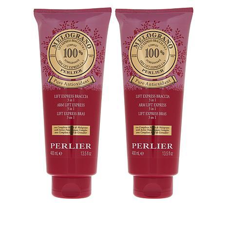 Perlier 13.5 fl. oz. Pomegranate 3 in 1 Arm Lift Express Cream BOGO