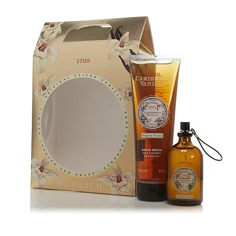 Perlier Caribbean Vanilla Bath & Shower Cream and Eau de Toilette