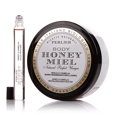 Perlier Honey & Camellia Duo - EDP and Body Butter