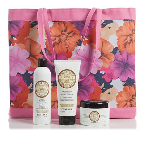 Perlier Shea Butter Almond 3-piece Set