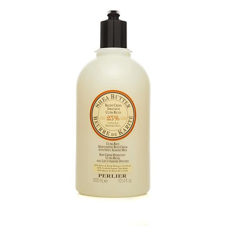 Perlier Shea Butter & Sweet Almond Bath Cream - 101.4 fl. oz.