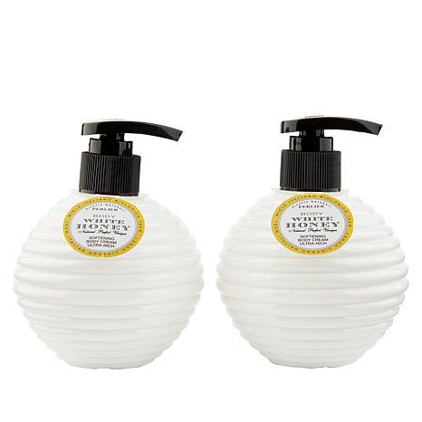 Perlier White Honey Body Cream 2-pack