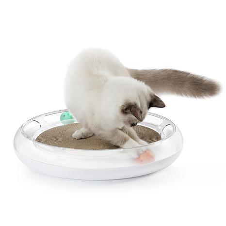 PETKIT Swipe Interactive Cat Scratcher and Chaser Lounger Toy