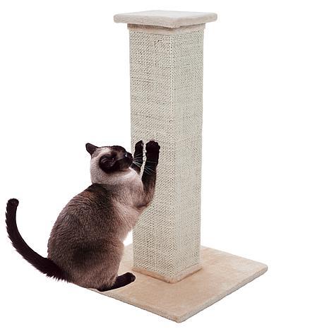 "PETMAKER 28"" Sisal Burlap Cat Scratching Post"
